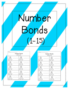 Addition Number Bonds 1-15