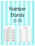 Addition Number Bonds 1-15 {BUNDLE}