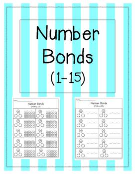 Addition Number Bonds 1-15 {BUNDLE}