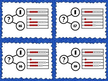Addition Number Bonds and Rekenrek for Numbers to 20