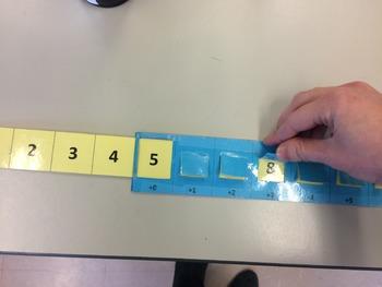 Addition Number Line Slider
