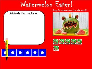 Addition Number Partners Five Through Ten- Building Number Sense