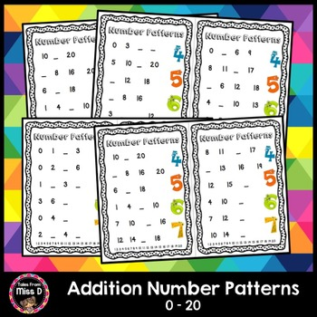 Addition Number Patterns
