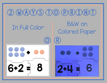 Addition Number Puzzles with Pictures