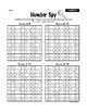Addition Number SPY - 20 Sheets (Adding Sums 5 to 20)