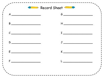 Addition Number Sentences