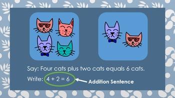 Addition Number Sentences FREEBIE