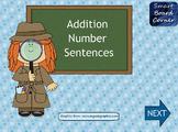 Addition Number Sentences SMART Board Lesson