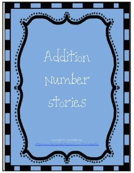 Addition Number Stories Bundle
