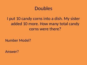 Addition Number Stories PPT