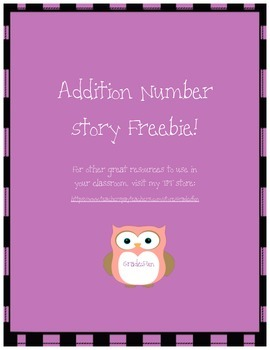 Addition Number Story