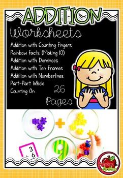 Addition Number Worksheets