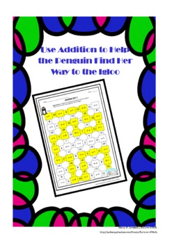 Addition Numbers 1-9: Maze