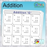 Addition (13 Numeracy sheets)