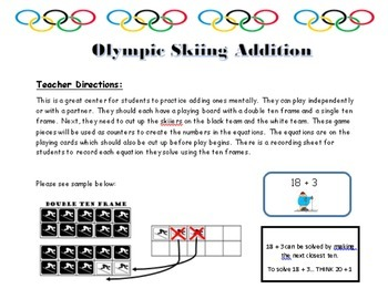 Addition: Olympic Skiing Mental Addition