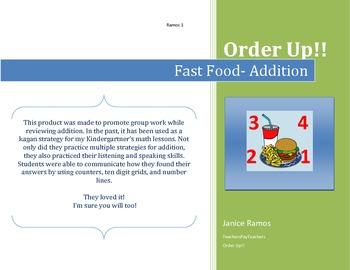 Addition- Order up!