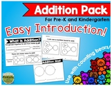 Addition Pack for Pre-K and Kindergarten