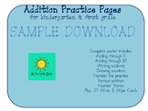 Addition Packet SAMPLE