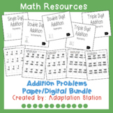 Addition Paper Based/Digital Pack (Boom Learning Included)