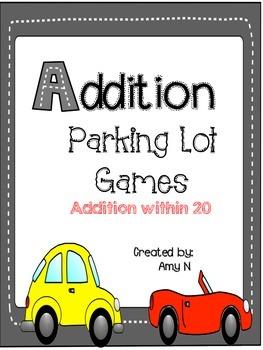 Addition Parking Lot Games