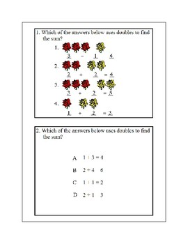 Addition-Part 1-Using Doubles