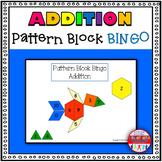 Addition Pattern Block Bingo