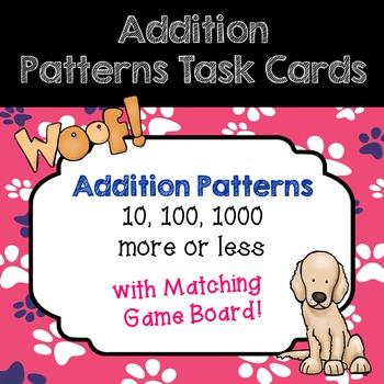 Addition Patterns Task Cards