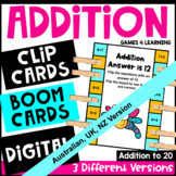 Addition Pick, Flip and Check Cards [Australian UK NZ Edition]