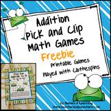 Addition Free Addition Games