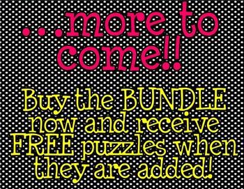 Addition Picture Puzzle BUNDLE