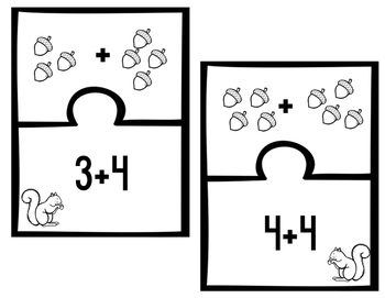Addition Picture Puzzles
