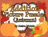 Addition Picture Puzzles {Autumn}