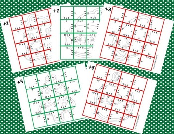 Addition Picture Puzzles {Christmas Cookies}