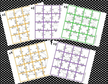 Addition Picture Puzzles {Halloween}