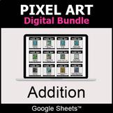 Addition - Pixel Art Digital Bundle   Google Sheets   Dist