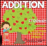 Addition Place Mats - Apples