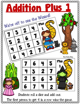 Addition Plus 1 - We're Off To See The Wizard