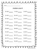 Addition Plus 6