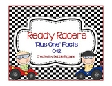 "Addition ""Plus One"" Facts to 12: Race Car Themed"