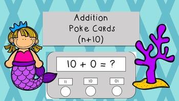 Addition Poke Cards N+0, N+1, N+10