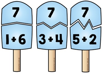 Addition Popsicles
