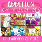 Addition Popsicles Learning Centers