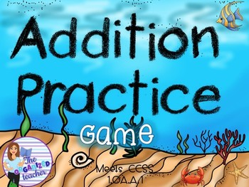 Addition Powerpoint Game- Editable!