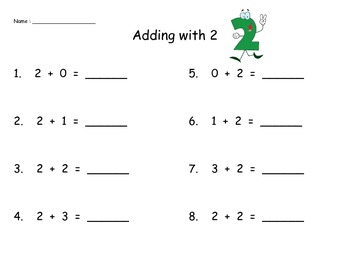 Addition Practice 0-5