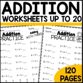 Math Worksheets Addition Practice
