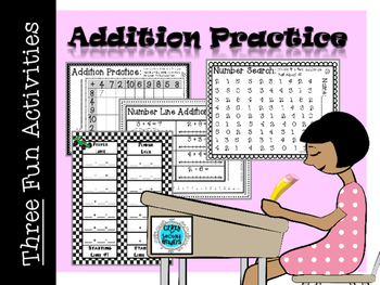 Addition Practice Activities