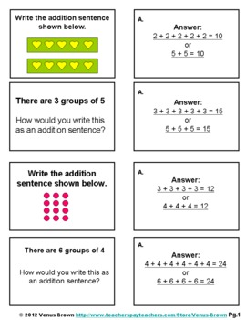 Addition Practice Folder Activity: Aligned to Common Core Standards