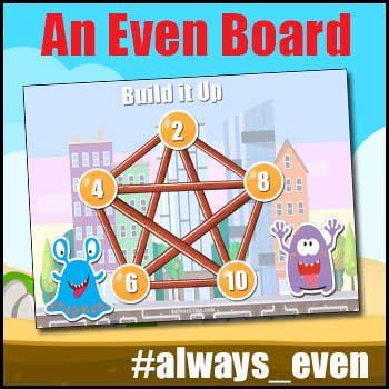 Addition Practice Game - Ideal for Addition Facts - Build It Up