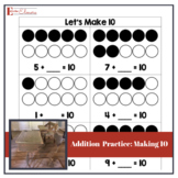Addition Practice - Making 10