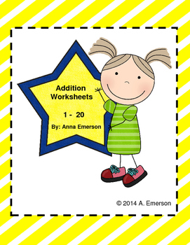 Addition Practice Number 1-20